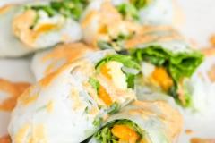 Mango-avocado rolls