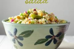 3 bean quinoa salad