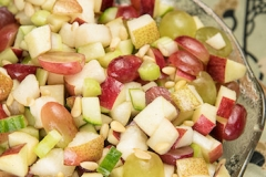 Apple-grape salad