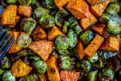 Sweet Potato & Brussel Sprouts