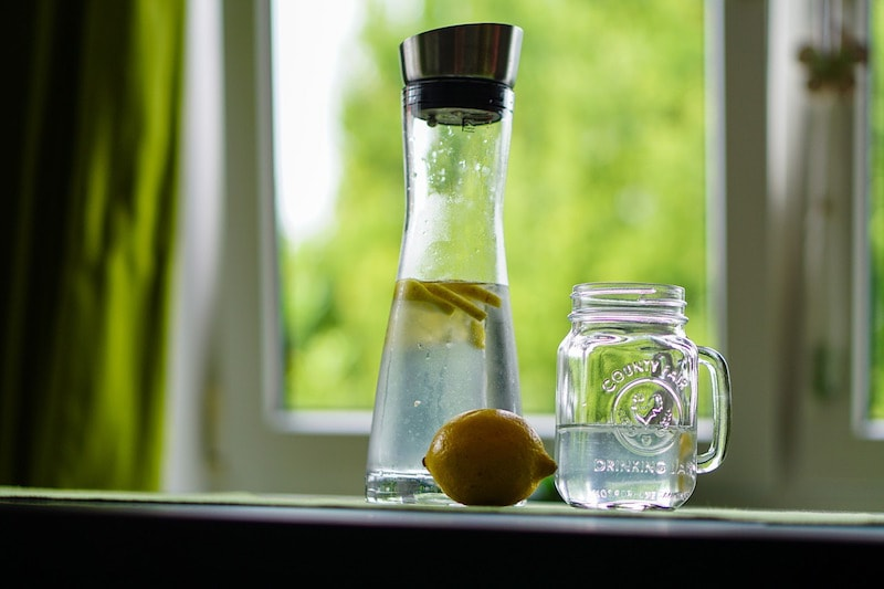 Detox water can help reduce your detox symptoms