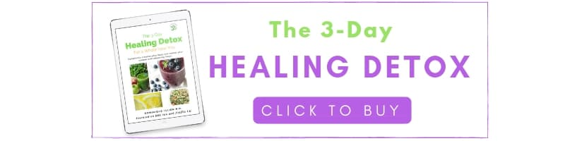 the 3-day healing detox, click to buy the eBook