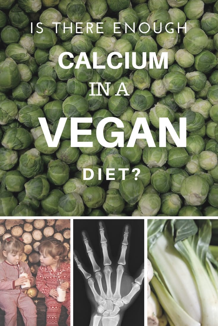 Calcium in a vegan Diet