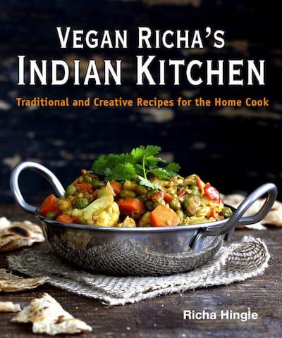 15 Must have Vegan Cookbooks - Vegan Richa's Indian Kitchen