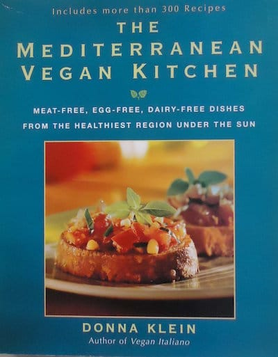 15 Must have Vegan Cookbooks - The Mediterranean Vegan Kitchen
