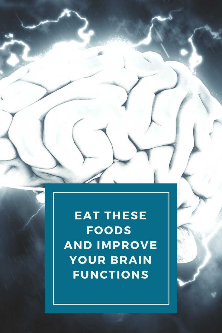Foods for brain development