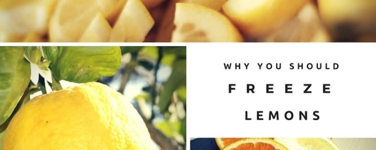 why you should freeze your lemon