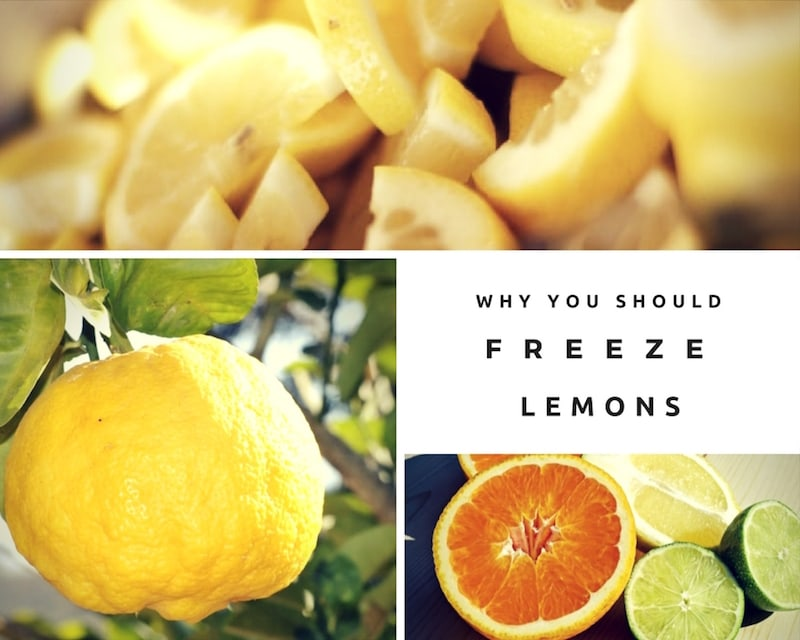 Why You Should Freeze Lemons [and How to freeze them]