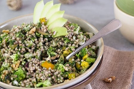 Weekend Detox Challenge - Buckwheat Garden Salad