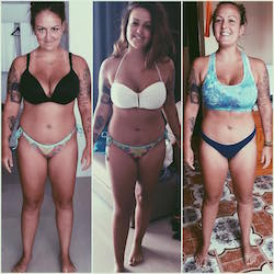 Karolann Om Detox testimonial before and after 7 day weight loss detox photos