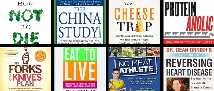 The best vegan books