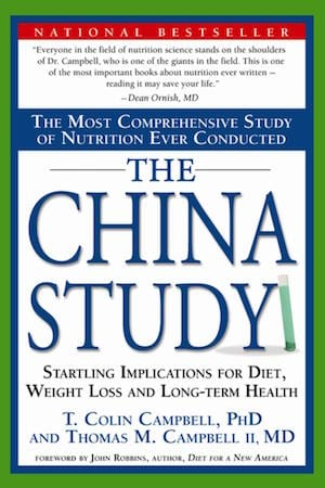 Vegan books - The China Study