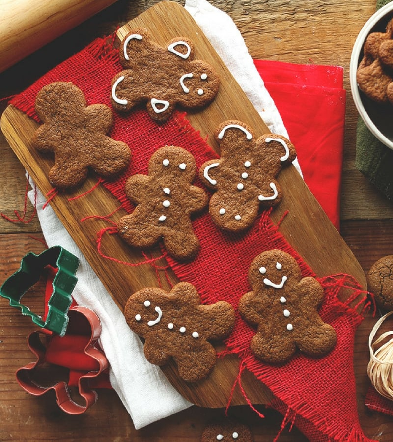 Vegan Christmas Recipes - Gingerbread Cookies