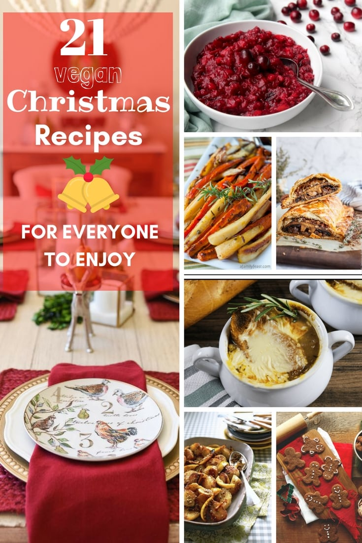 21 Vegan Christmas Recipes