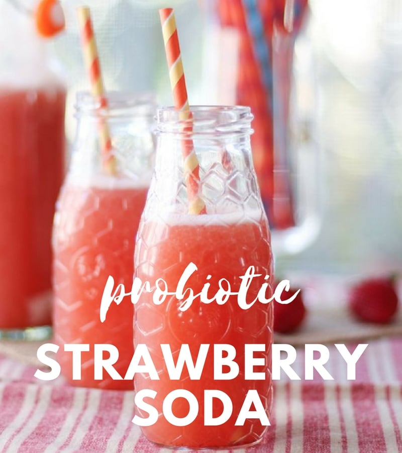 Mocktail recipes strawberry soda