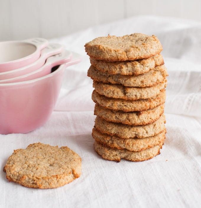 OMDetox Sugar-Free Desserts - Coconut Cookies