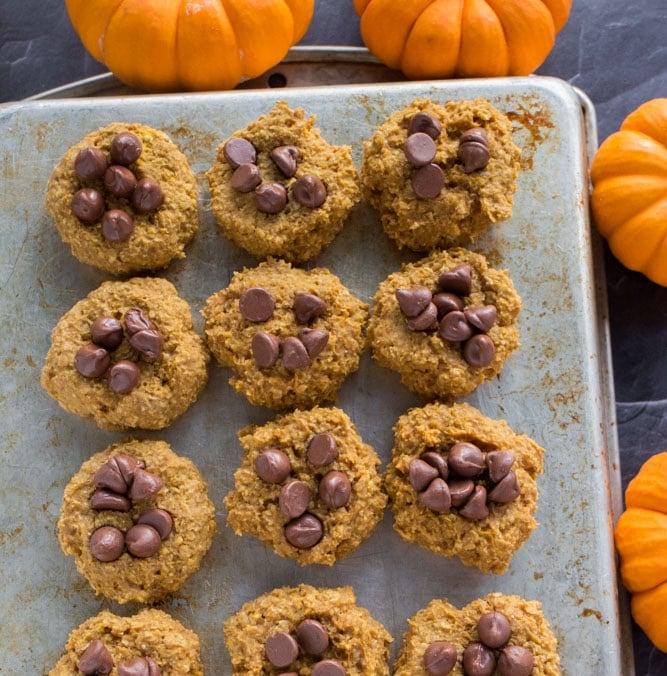OMDetox Sugar-Free Desserts - Pumpkin Cookies
