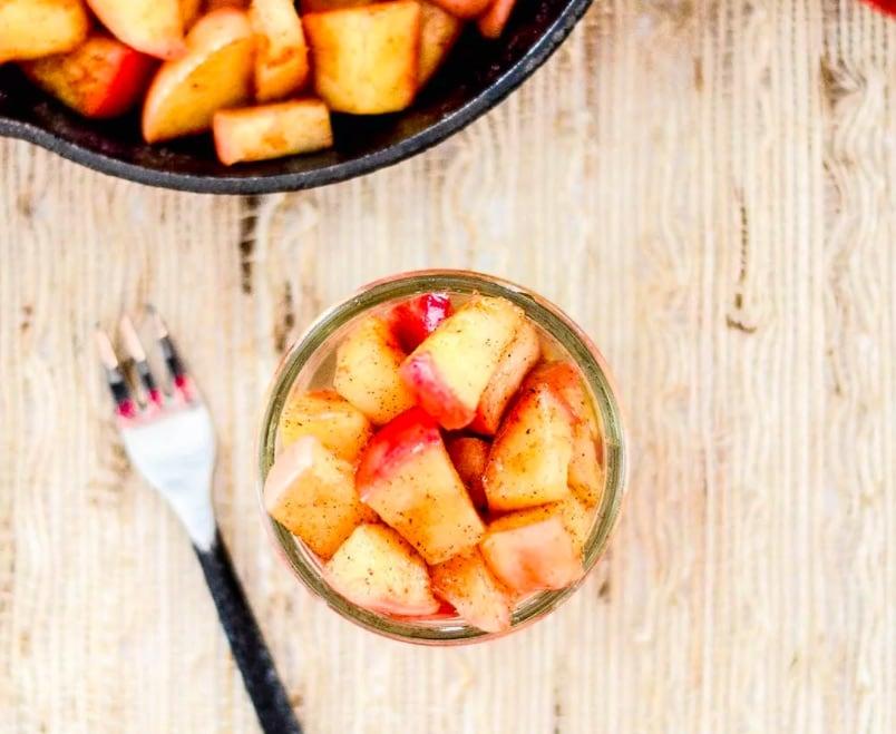 OMDetox Sugar-Free Desserts - Stovetop Cinnamon Apples