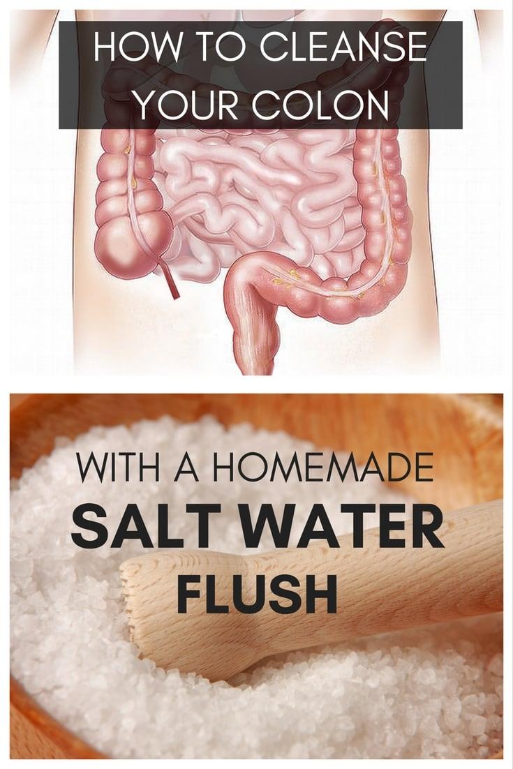 salt water flush - OMDetox