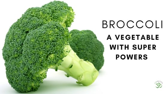OMDetox Cancer Prevention with Broccoli