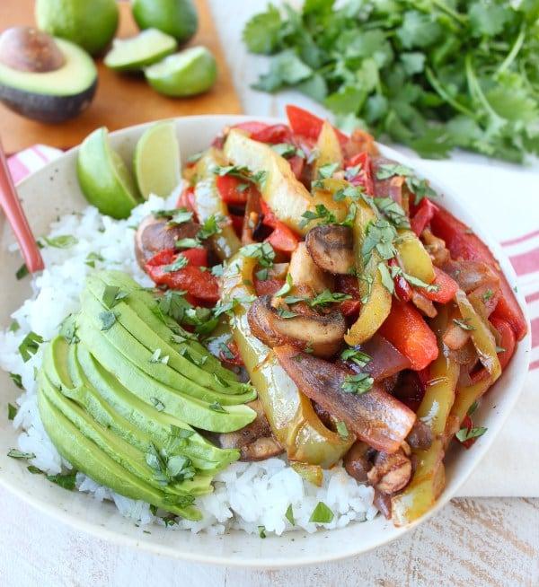 OMDetox Gluten-Free Vegan - Fajita Rice Bowl