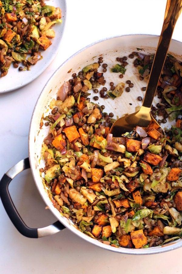 OMDetox Gluten-Free Vegan - Lentil Salad