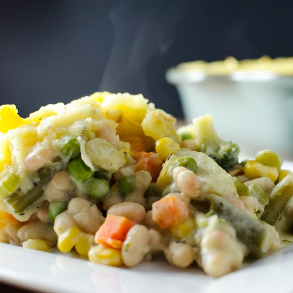OMDetox Gluten-Free Vegan - White Bean Shepherds Pie