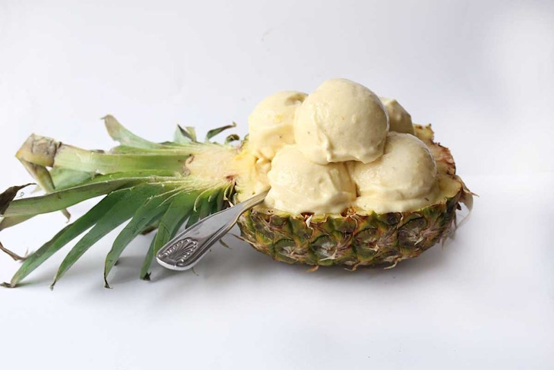 OMDetox Sugar-Free Desserts - Pineapple Banana Ice Cream