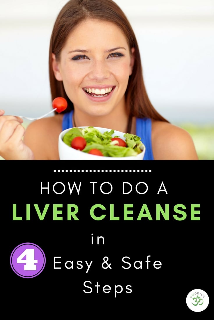 How To Detox Your Liver At Home in 4 Easy Steps - OMDetox