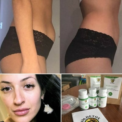OMDetox Customer detox results - Weight loss