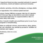 OMDetox Green Superfood Supplements