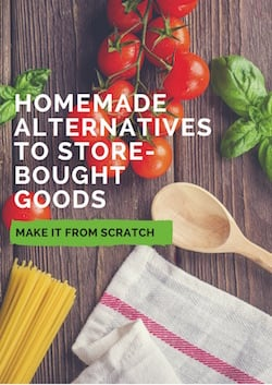 Homemade alternatives to store-bought goods ebook