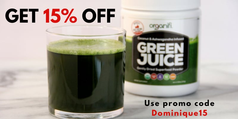Get Organifi Discount Green Juice Powder