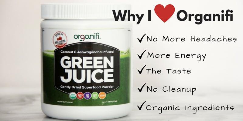 Organifi SuperFood Green Juice Powder
