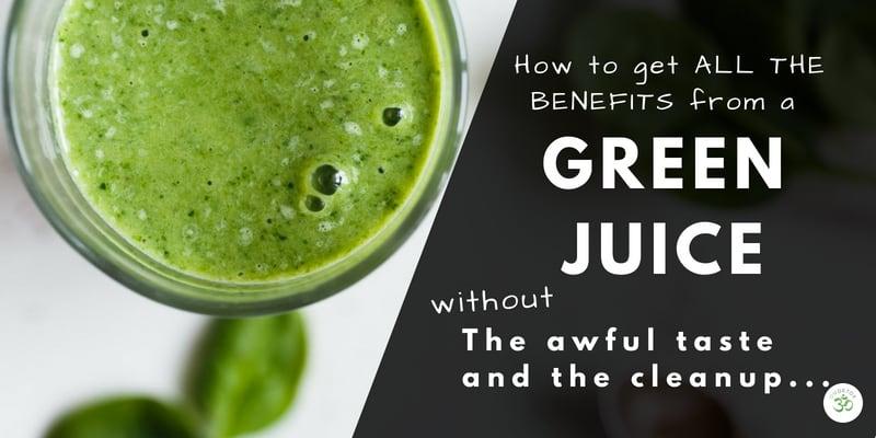 The best tasting Super Green Juice Powder