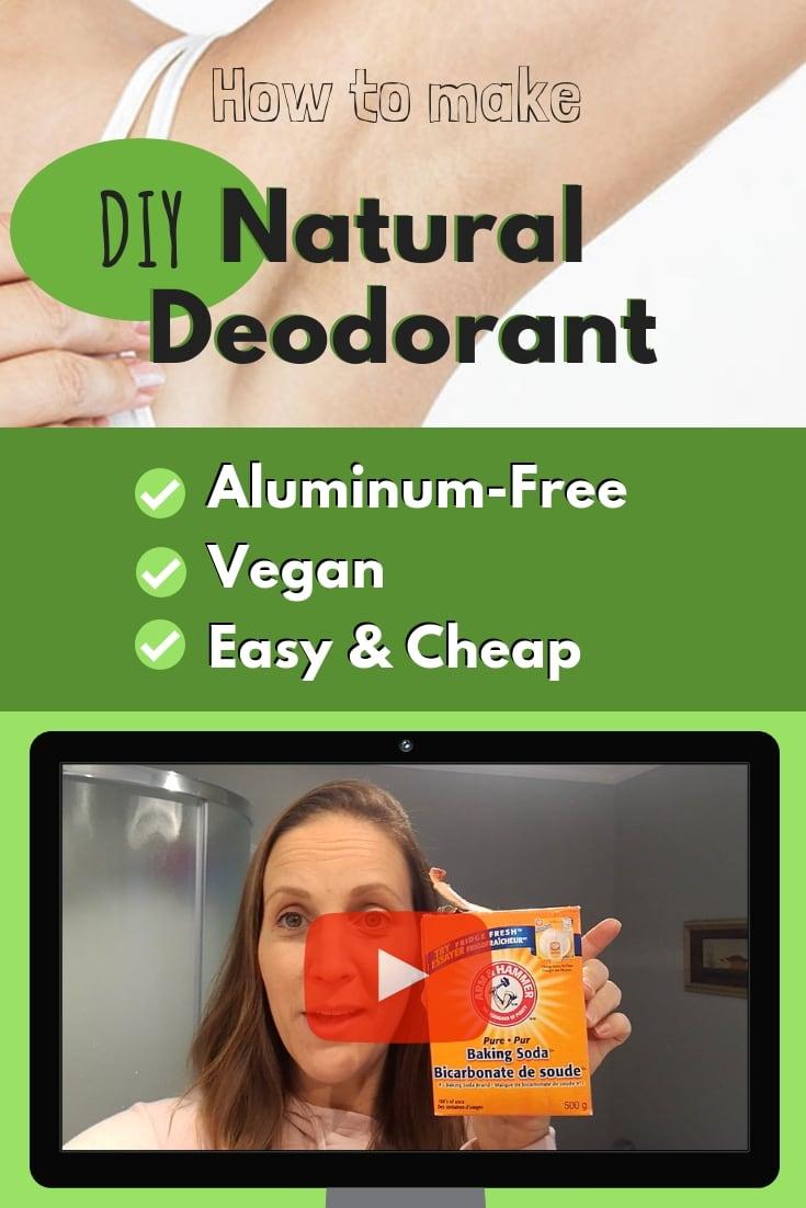 Om Detox - Natural Vegan Aluminum Free Deodorant
