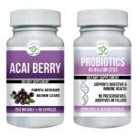 OM Detox acai berry detox & probiotic combo pack
