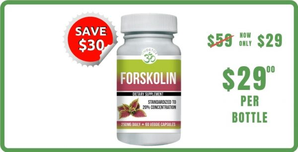 OM DETOX Forskolin supplement