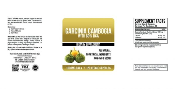 garcinia OM Detox cambogia supplement facts