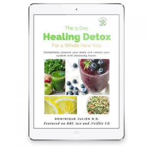OMDETOX 3 day healing detox, downloadable PDF