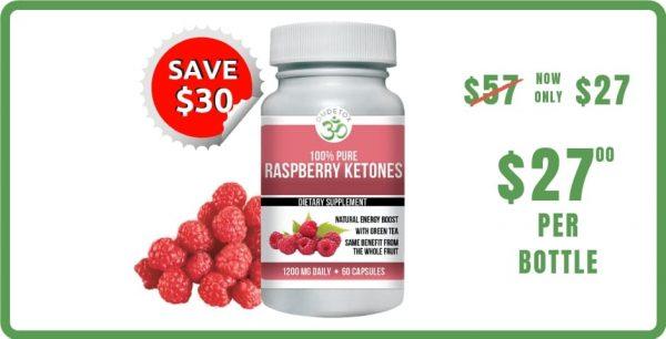 OM Detox raspberry ketones 1 bottle