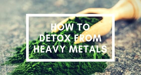Blog- How to detox from heavy metals, picture of chlorella powder