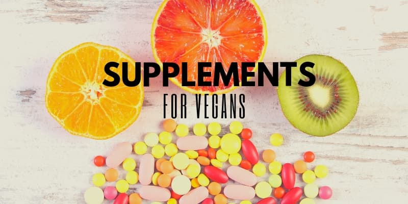 My favorite vegan supplements - om detox blog - picture of fresh fuits and pills