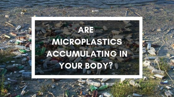 Are microplastics accumulating in your body? picture of plastic pollution on the beach