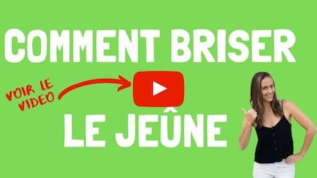 Les videos de support OM Detox - Comment briser le jeûne