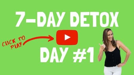 OM Detox video support day 1 - click to watch the video