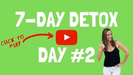 OM Detox video support day 2 - click to watch the video