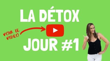 Les videos de support OM Detox, jour 1