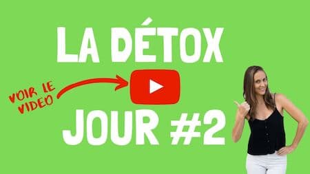 Les videos de support OM Detox, jour 2