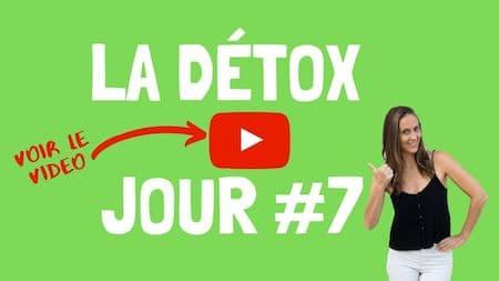 Videos de support OM Detox, jour 7